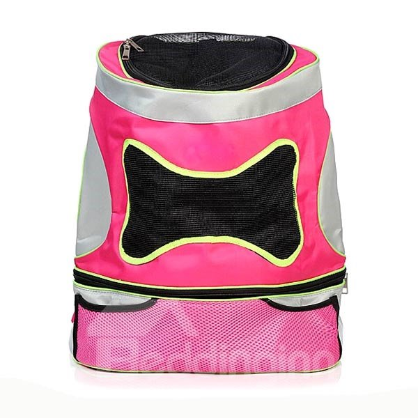 Large Capacity with Adjustable Straps Backpack Pet Carrier