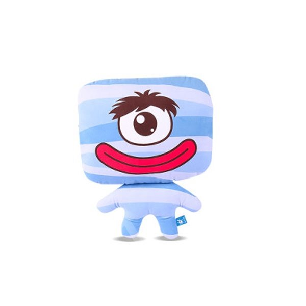 One Cute Eye And Red Mouth Monster Creative Car Pillow