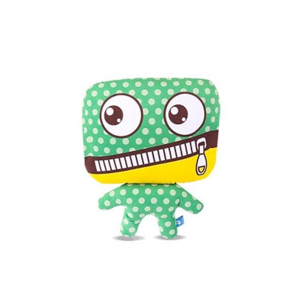 Most Popular Zipper Mouth Style Cartoon Monster Creative Car Pillow