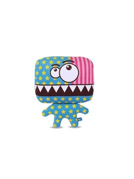Cute Monster Cartoon Style And Stars And Stripes Car Pillow
