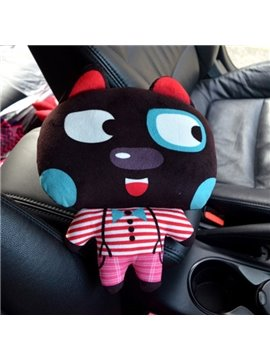 Enjoyable And Comfortable Cartoon Black Rabbit Creative Car Pillow