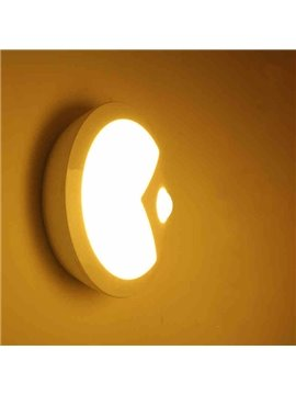 Modern Design Round Body Induction LED Night Light