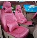 Luxurious Solid Style And Textured Comfortable Universal Car Seat Cover