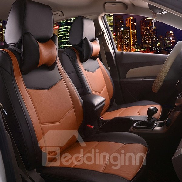 Most Popular PU Leather Material Sport Design Fashionable Dedicated Car Seat Cover