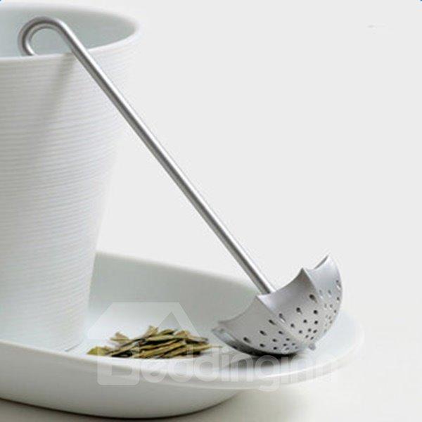 Creative Stainless Umbrella-like Zinc Alloy Tea Infuser Strainer