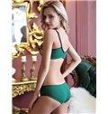 Most Popular Sexy Elegant Floral Pattern Bra Underwear Sets