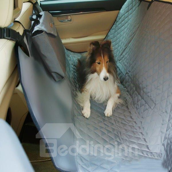 Travel Necessary Waterproof Deluxe Rear Car Pet Seat Mat