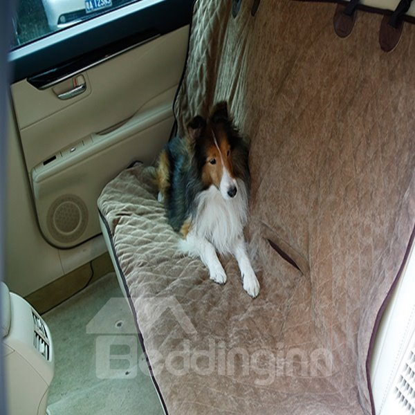 Practical Design And Most Popular Waterpoof Rear Car Seat Dog Pet Mat