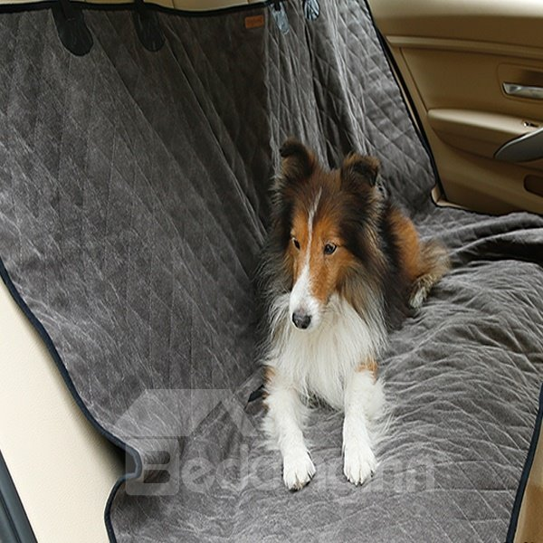 Double Side Winter And Summer Waterproof Protective Rear Car Seat Dog Pet Cover