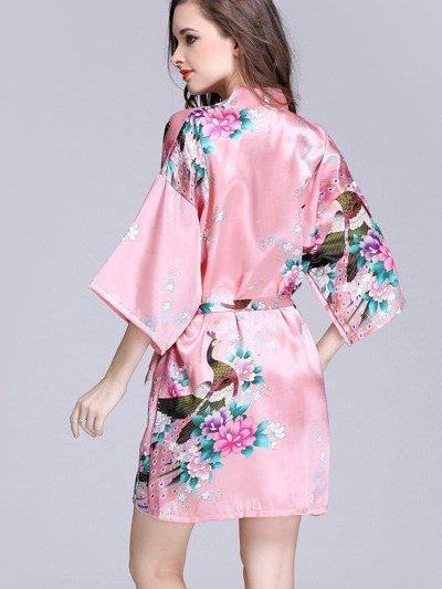 Most Popular Classic Flower Pattern Bathing Muti-Use Sleepshirt