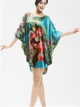 Elegant And Noble With Beautiful Landscape Loose Sleepshirt