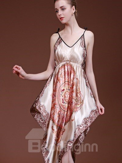 Elegant Fashion And Attractive Bohemia Style Sleepshirt
