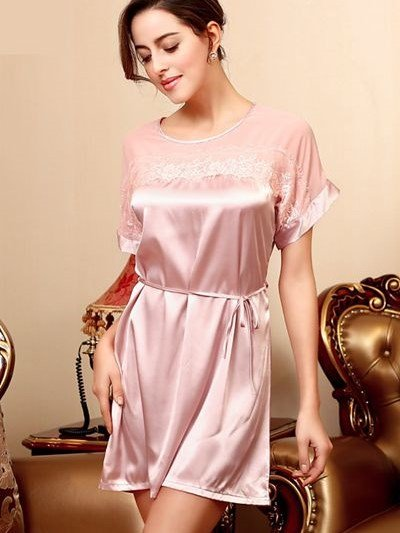 Simple Lace Formula High-Grade A Variety Of Styles Sleepshirt