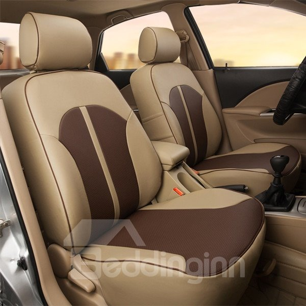 Attractive And Exquisite Streamlined Design Popular PU Leather Universal Car Seat Cover