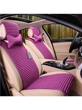 Simple Pure Front Design And Special Separately Style Universal Car Seat Mat
