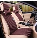 Simple Pure Front Design And Special Separately Style Car Seat Mat