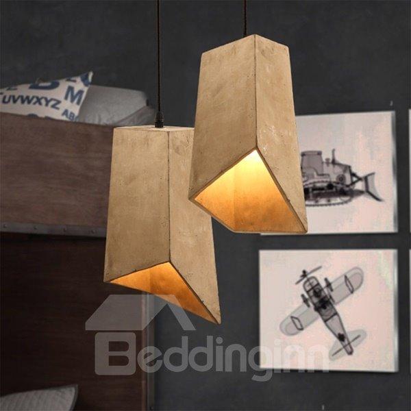 Wonderful Cement Irregular Shape Home Decorative Pendant Light
