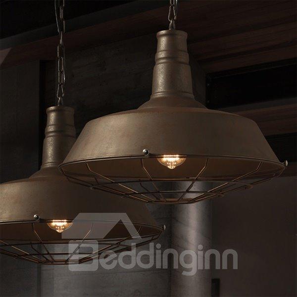 Retro Style Chain Iron Framed Pendant Light