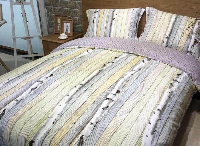 Rural Style Trunk Print 4-Piece Cotton Duvet Cover Sets