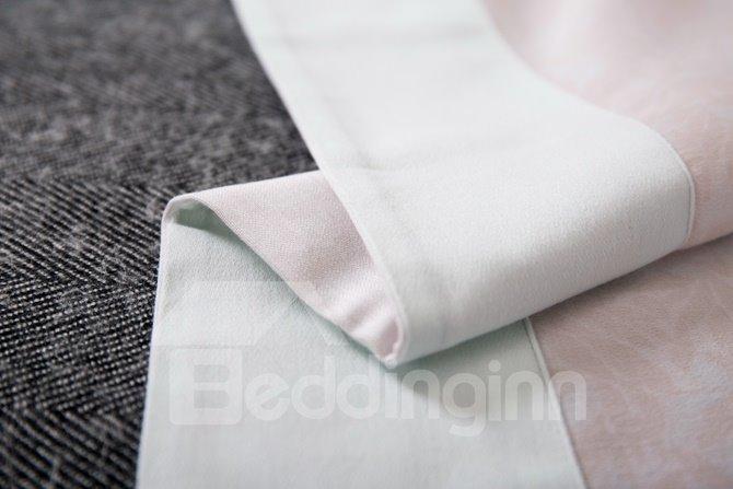 Creative Bamboo Print 4-Piece Cotton Duvet Cover Sets