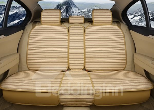Comfortable And Cool Striped Style Universal Car Seat Cover