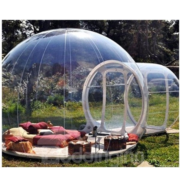 Single Tunnel Inflatable Bubble Lawn Tent Backyard Holiday Family Activities Outdoor Transparent Tent ...  sc 1 st  Beddinginn.com & Single Tunnel Inflatable Bubble Lawn Tent Backyard Holiday Family ...
