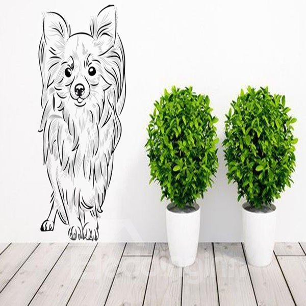 Lovely Decorative Dog Pet Pattern Wall Stickers