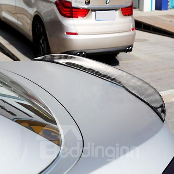 Beautiful Sport Series Special Carbon Fiber Trunk Boot Lip Rear Spoiler
