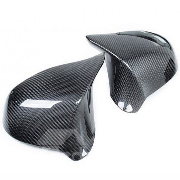 Charming And Cool 1-Pair Carbon Fiber Mirror Cover