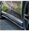 Sport Bumpers 4 Sets Splitter Carbon Fiber Side Skirts Spoiler