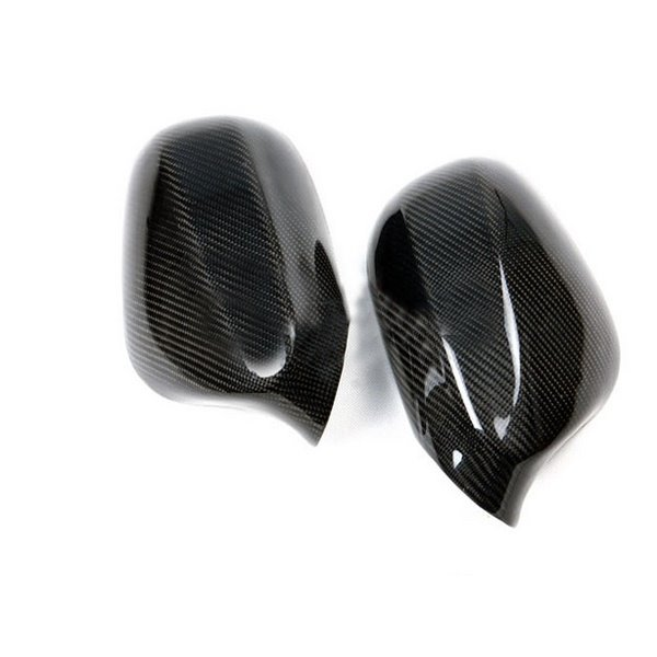 Handsome And Charming 1-Pair Carbon Fiber Material Mirror Cover
