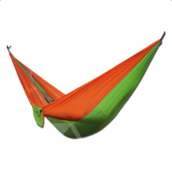 Contrast Color 2-Person Outdoor Durable Camping Widened Hammock