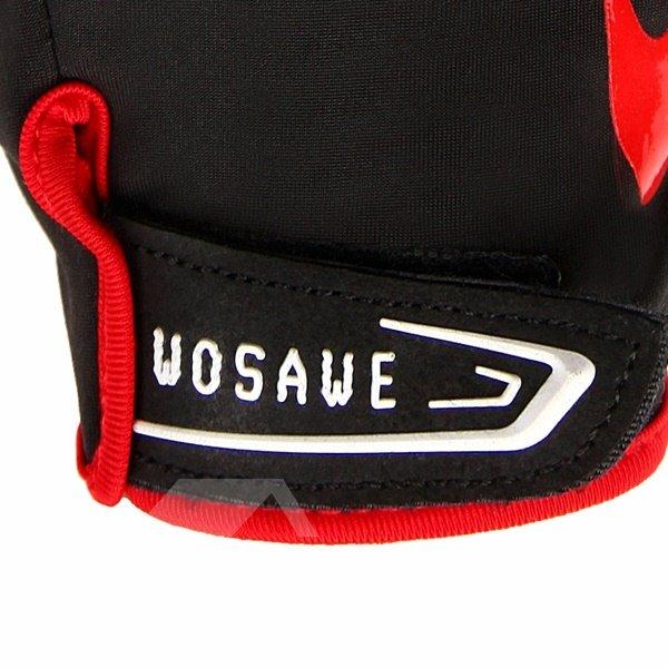 Outdoor Fleece Material Road Bike Tele-fingers Cycling Warm Gloves