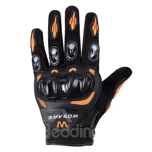 Unisex Outdoor Shockproof Motorcycle and Cycling Long Sleeve Gloves
