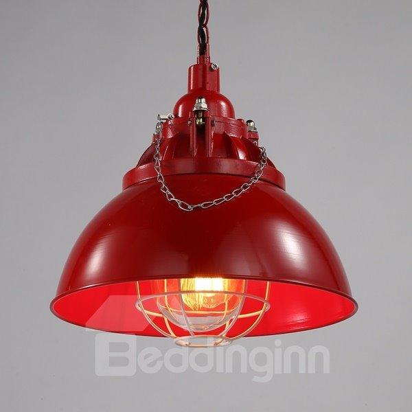 Colorful Iron Semicircle Shape Decorative Pendant light