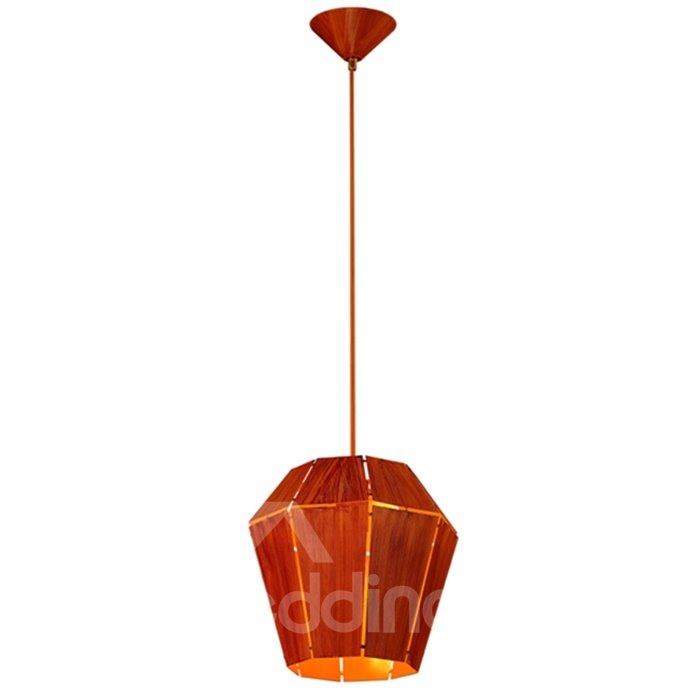 Orange Iron Frame Home Decorative Pendant Light