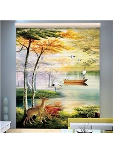 Amazing Wonderland in the Fairy Printing 3D Shangri-La Blinds & Roller Shades