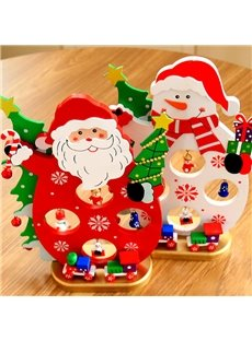 Pure 15cm Snow 3-Pieces Christmas Tree Decoration