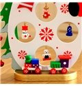 Pure 15cm Snow 3-Pieces Christmas Tree Decoration