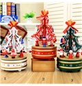 Festival Christmas Decoration Christmas Hat Pattern Wine Tote Bag