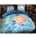 Fancy Scorpio 3D Printed 4-Piece Cotton Duvet Cover Sets