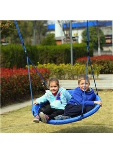 Outdoor and Indoor Two-Child Hammock Nylon Oxford Kids Swing
