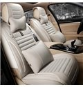 Easy Breathable And Eco-Friendly Material Charming Universal Five Car Seat Cover