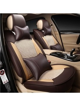 Cool Ice Silk And Practical Leather Material Special Car Seat Cover
