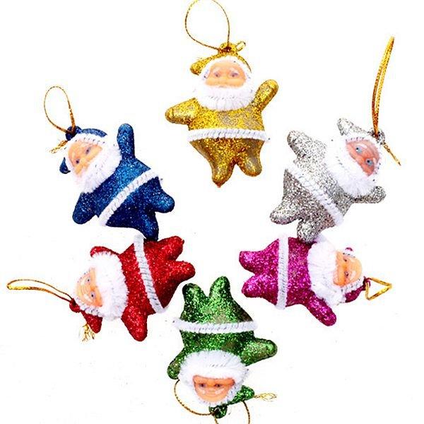 Festival Christmas Tree Decoration Santa Claus Pattern Pendant