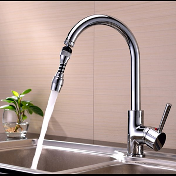 Modern Design 4.6 Inches Water Saving Kitchen Faucet Head