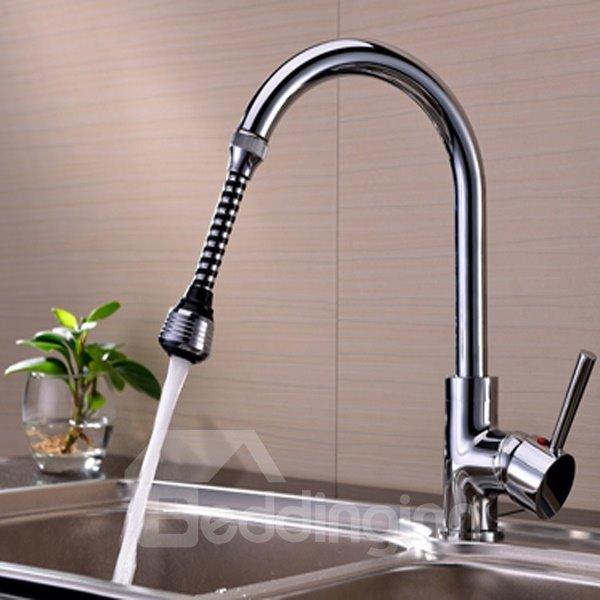 Unique Design 5.9 Inches Water Saving Kitchen Faucet Head