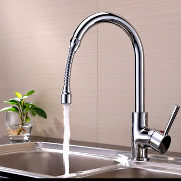 Comtemporary 5.7 Inches High Water Saving Kitchen Faucet Head