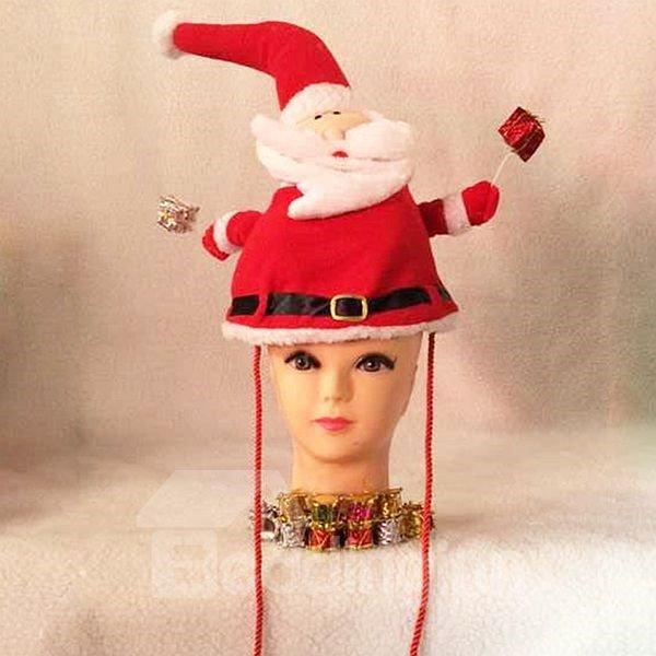 Unique Santa Claus Pattern Christmas Hat