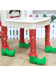 Festival Christmas Decoration Santa Claus Pattern Christmas Stocking